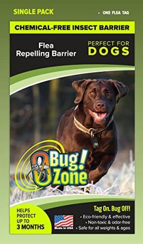 0Bug!Zone Dog Flea Barrier Tag, Single Pack