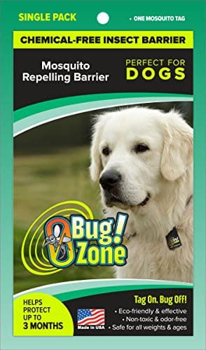 0BugZone Dog Mosquito Tag Single Pack (previously known as shoo!TAG)