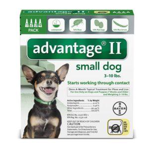 Advantage II Small Dog