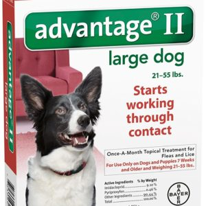 Advantage II Large Dog 6-Pack