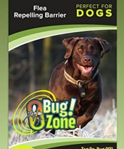 0Bug!Zone Dog Flea Barrier Tag, Single Pack