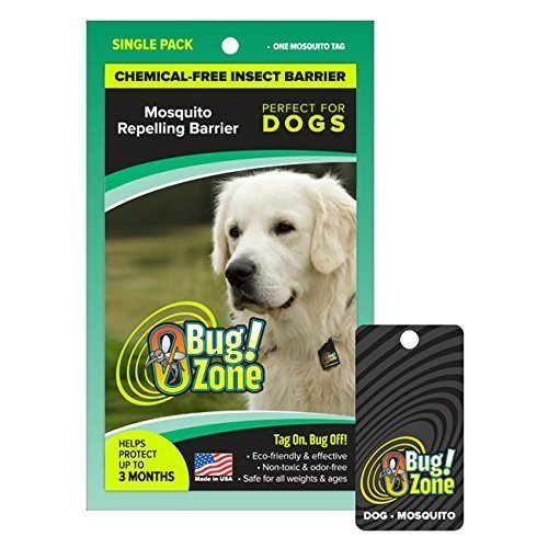 0BugZone Dog Mosquito Tag Single Pack (previously known as shoo!TAG) by 0BugZone (previously known as shoo!TAG)