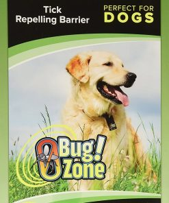 0Bug!Zone Dog Tick Barrier Tag, Single Pack