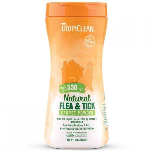 Tropiclean Natural Flea And Tick Carpet Powder