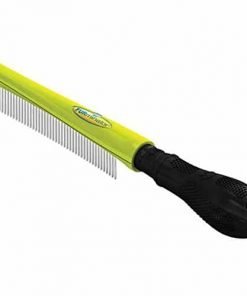 Furminator Finishing Dog Comb For All Coat Types For Tangle-Free Fur