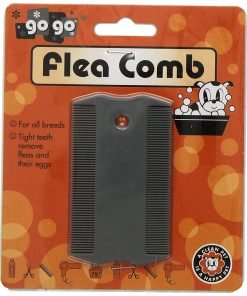 GoGo Pet Products Double Sided Flea Pet Grooming Comb