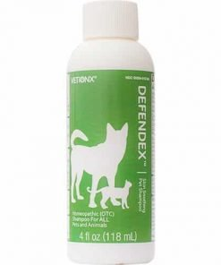 VETiONX Defendex - All-Natural Flea, Tick, and Mange Shampoo for Dogs and Cats. Homeopathic Pet Shampoo Naturally Washes Away Flea, Tick, Mange and Scabies Infestations. Addresses All Stages of Life Cycle Including Eggs. 1 Bottle