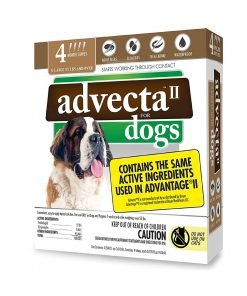 Advecta II Flea Treatment, 4 Month Supply