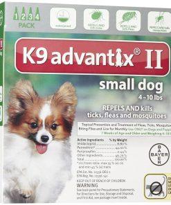K9 Advantix II Small Dog 4-Pack