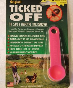 The Original Ticked Off Tick Remover Three (3) Pack With Key Hole Family Colors May Vary