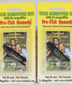 2 pack Pro-Tick Remedy Deer Tick Dog Tick And Lone Star Tick Remover