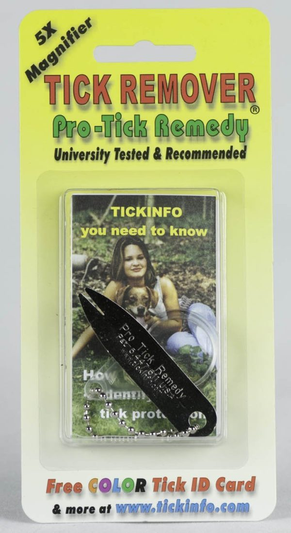 6 pack Pro-tick Remedy Deer Tick Dog Tick Lone Star Tick Remover