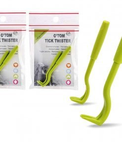 O'Tom Tick Twister Removal Tool Safe And Easy For Pets And Humans 2 Per Pack