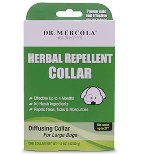 "Herbal Repellent Collar For Dogs And Puppies - No Harsh Ingredients - Repels Fleas, Ticks, Mosquitoes - Dr. Mercola Healthy Pets - 1 Collar (Effective Up To 4 Months) (Large Dogs (Necks up to 27""))Herbal Repellent Collar For Dogs And Puppies - No Harsh Ingredients - Repels Fleas, Ticks, Mosquitoes - Dr. Mercola Healthy Pets - 1 Collar (Effective Up To 4 Months) (Large Dogs (Necks up to 27""))"