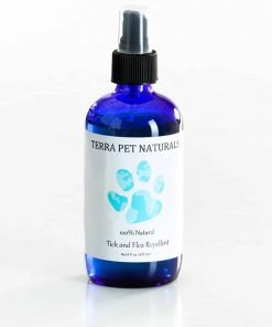 100% Natural Flea and Tick Repellent Spray for Dogs and Puppies, 8 oz., for Flea and Tick Prevention, Treatment, and Control. Effective, All-Natural and Organic Ingredients