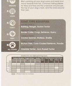 (2 Pack) Four Paws Magic Coat Flea Comb Extra Fine Coat Dog Flea Removal Comb