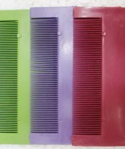 3 PCS Head Hair Lice Nit Pet Flea Eggs Remover Fine Tooth Grooming Brush Comb