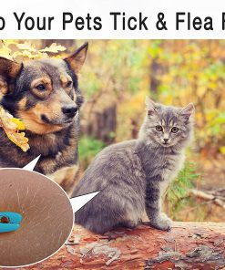 Coartisans Three Size Tick Remover Tool For Dogs And Humans With Flea Comb | Durable Plastic With Quality Grip | Metal Durable Comb