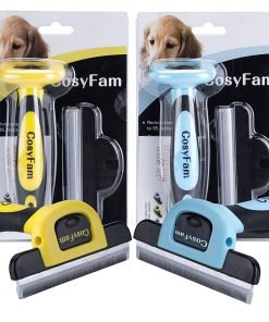 CosyFam Dog Brush Cat Brush De Shedding Brush Grooming Tool For Short To Long Haired Pets In Small Medium And Large Size