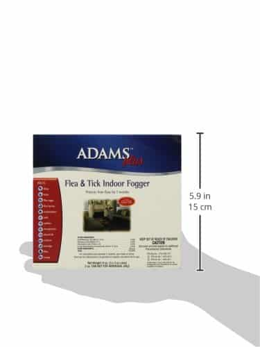 Adams Plus Flea And Tick Indoor Fogger, 3 Pack