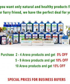 Arava Flea And Tick Control Drops Treatment For Dogs (4-Doses) - Natural, Aromatherapy Medicated. Repels Pests with Natural Oils - Safe On Skin And Coats - Enhanced Defense And Prevention (3 Variations)