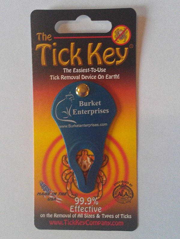 Amazing Tick Tool! 2 Individually Wrapped-Tick Key Remover Kits with Bonus! Fast, Easy And Effortless - Never Touch a Tick. 99.9% Effective on Removal of All Sizes And Types of Embedded Ticks! Each Kit Contains a Reclosable Bag, 1 Tick Key, Detailed Instruction Card And Disinfectant Pads to Sanitize the Bite Site - Great for Humans And Animals- Various Attractive Colors. A Perfect Gift!