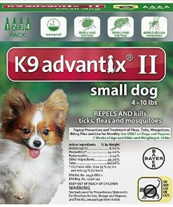Ax Advantixii Dog 4mon 4-10lb Grn