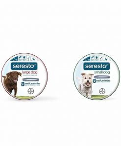 Bayer Seresto Flea And Tick Collar For Large And Small Dogs Bundle, 8 Month Protection