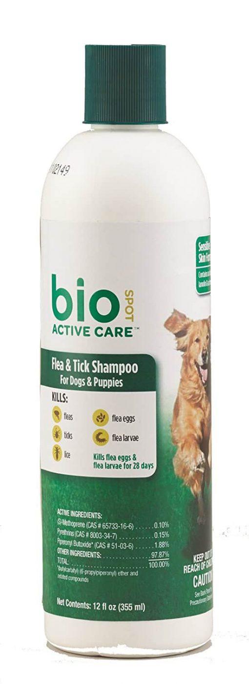 Bio Spot Active Care Flea And Tick Dog Shampoo