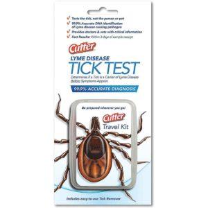 Cutter Lyme Disease Tick Test
