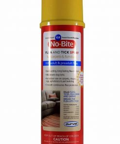 Durvet 011-1134 No Bite IGR Flea And Tick House And Carpet Spray, 16 oz