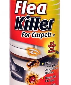 Enforcer 20-Ounce Flea Killer For Carpet, Fresh Linen Scent