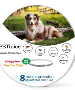 Flea And Tick Prevention For Dogs Cats, Dog Flea And Tick Control, Flea Collar for Dogs Cats (Dog-One size fits all)