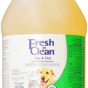 Fresh 'n Clean Flea And Tick Conditioning Shampoo For Dogs and Cats