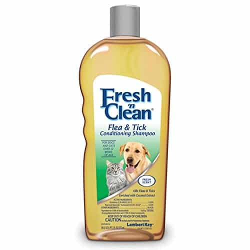 Fresh'n Clean Flea And Tick Small Pet Conditioning Shampoo, 18-Ounce