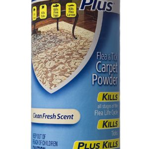 HARTZ UltraGuard Plus Flea And Tick Carpet Powder, 16 oz