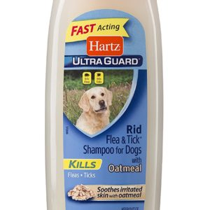 Hartz Ultra Guard Rid Flea And Tick Shampoo For Dogs 18 oz