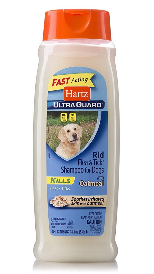 Hartz Ultra Guard Rid Flea And Tick Shampoo For Dogs 18 oz