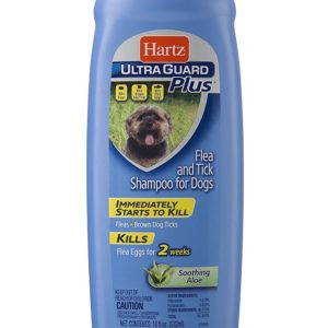 Hartz UltraGuard Plus Flea And Tick Shampoo For Dogs