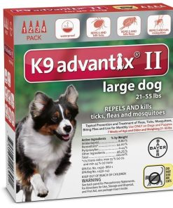 K9 ADVANTIX II FOR LARGE DOGS by K-9 Advantix
