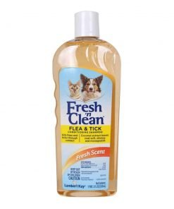 Lambert Kay Fresh 'n Clean Flea and Tick Small Pet Conditioning Shampoo, 18-Ounce