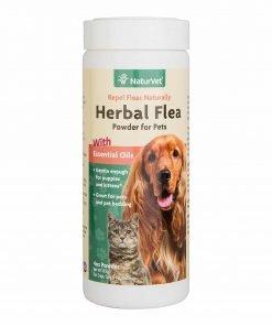 NaturVet Herbal Flea Powder With Essential Oils For Dogs And Cats, 4 oz PowderNaturVet Herbal Flea Powder With Essential Oils For Dogs And Cats, 4 oz Powder