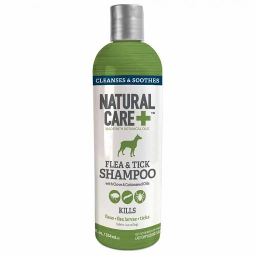 Natural Care Flea And Tick Shampoo For Dogs, 12 oz (Packaging May Vary)