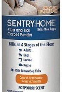 Sentry Flea And Tick Carpet Powder 16oz