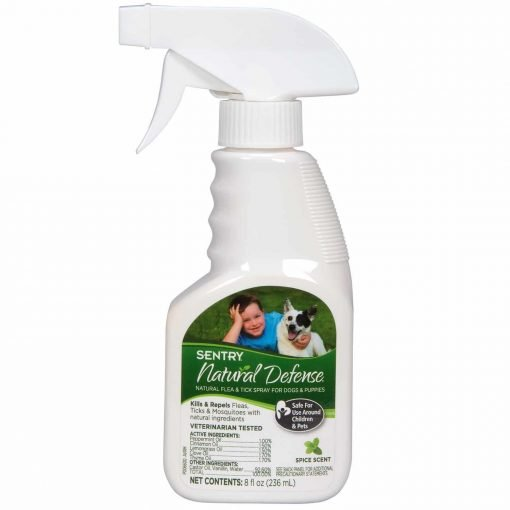 Sentry Natural Defense Flea & Tick Spray For Dogs & Puppies