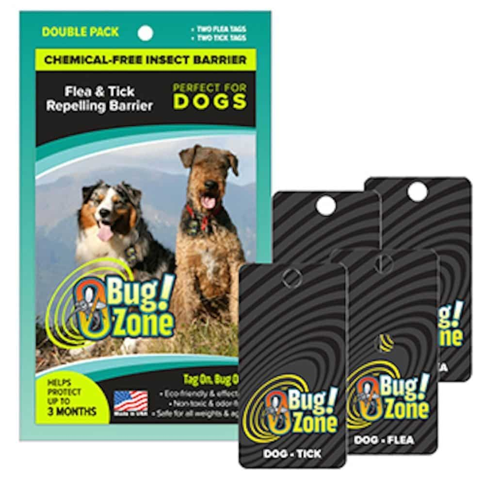 Shoo Dog Repellent Shoo Tag Dog Flea Tick Double Pack