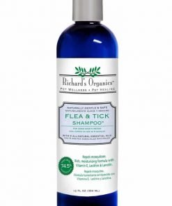 SynergyLabs Richard's Organics Flea And Tick Shampoo 12 fl. oz