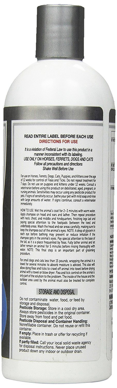 SynergyLabs Veterinary Formula Clinical Care Flea And Tick Shampoo for Dogs; 16 fl. oz