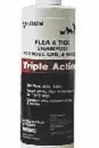 Triple Action Flea And Tick Shampoo - 12 oz
