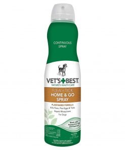 Vet's Best Flea And Tick Home And Go Spray, 6.3 oz, USA Made